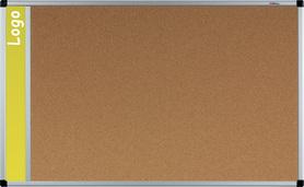 Tablica na logo korkowa w ramie aluminiowej B1 60x90 cm