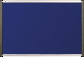 Tablica tekstylna (niebieski-unijny) Rama Vito 90×120 cm