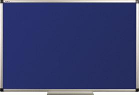 Tablica tekstylna (niebieski-unijny) rama aluminiowa model B1 100x200 cm