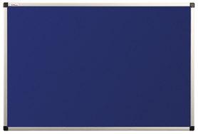 Tablica tekstylna (niebieski-unijny) rama aluminiowa model B2 100x200 cm
