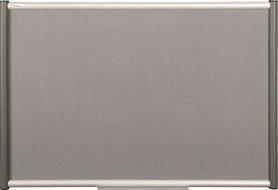 Tablica tekstylna (szara) Rama Vito 90×120 cm