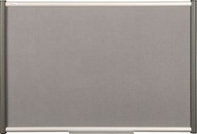 Tablica tekstylna (szara) Rama Vito 100×150 cm