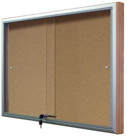 Gablota Casablanka eco korkowa-drzwi przesuwane 104x142 (18xA4)