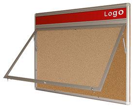 Gablota Oxford korkowa wewnętrzna z logo 92x80 (6xA4)