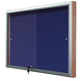 Gablota Casablanka eco tekstylna-drzwi przesuwane 104x186 (24xA4)