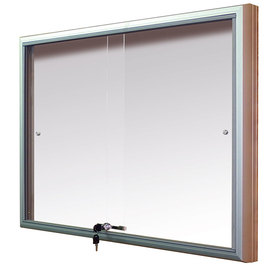 Gablota Casablanka eco Magnetyczna-drzwi przesuwane 104x98 (12xA4)