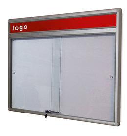 Gablota Dallas eco Magnetyczna-drzwi przesuwane z logo 89x98 (8xA4)