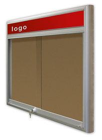 Gablota Casablanka korkowa-drzwi przesuwane z logo 6xA4