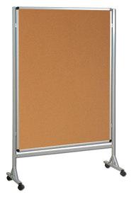 Mobilna ścianka  korkowa 120x160 cm