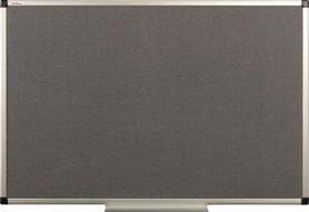 Tablica tekstylna (szara) rama aluminiowa model B2 100×150 cm