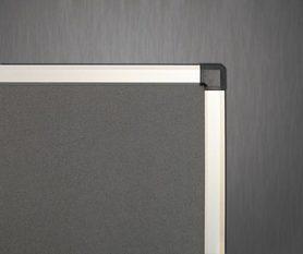 Ścianka parawanowa stacjonarna (szara) 120x160 cm